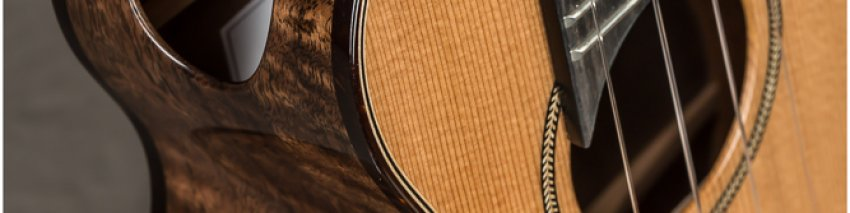 Kinnard Soprano  Series 2 Cedar-Walnut w/Side Sound Port