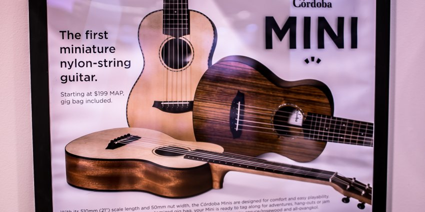 Cordoba Mini – NAMM 2015