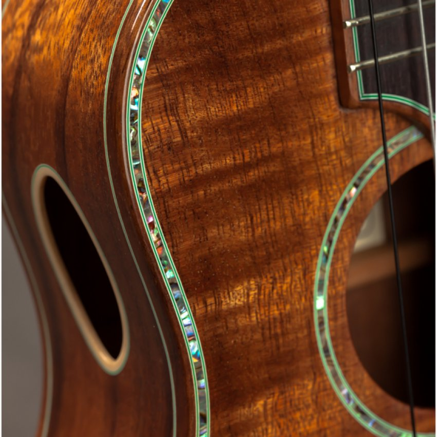 Maui Music Koa Concert Long Neck Deluxe